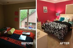 Girls Bedroom Redesign