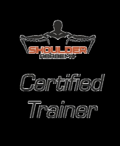 Shoulder Academy Certified Trainer