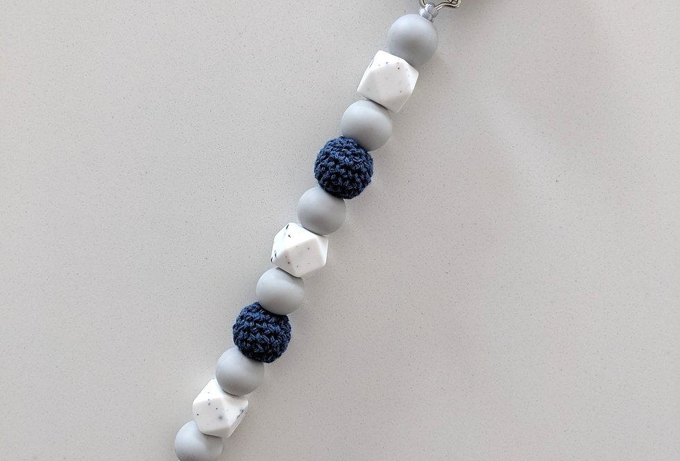 Attache-suce personnalisé - Bleu marin