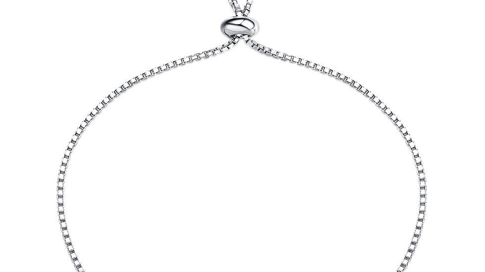 925 Silver Rhodolite Garnet Bracelet