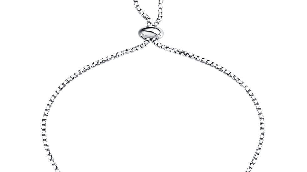 925 Silver Iolite Bracelet