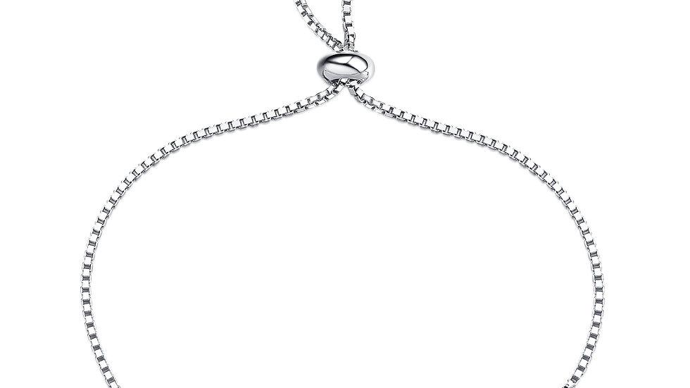 925 Silver Garnet Bracelet