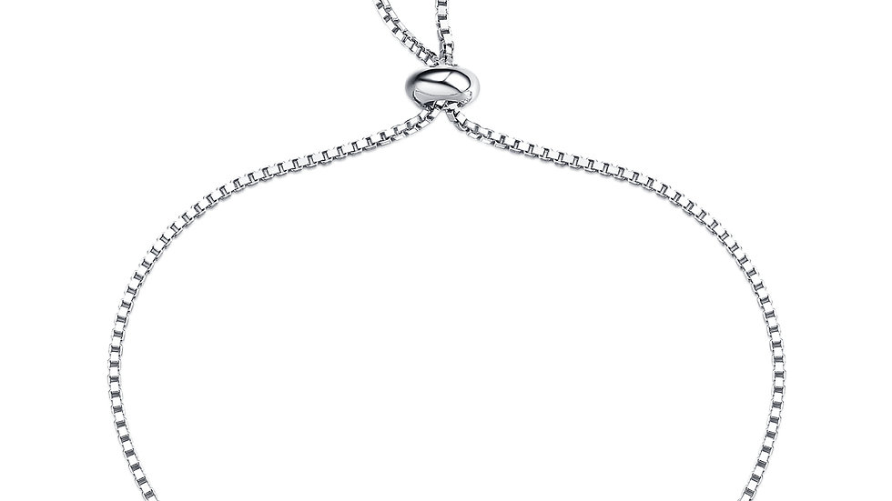 925 Silver Peridot Bracelet