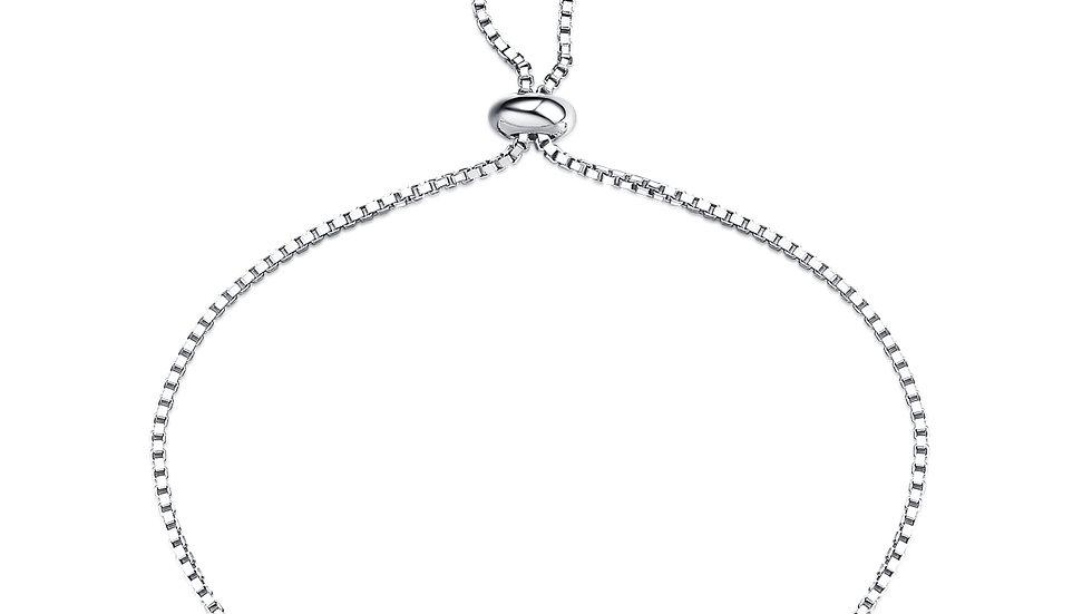 925 Silver Amethyst Bracelet