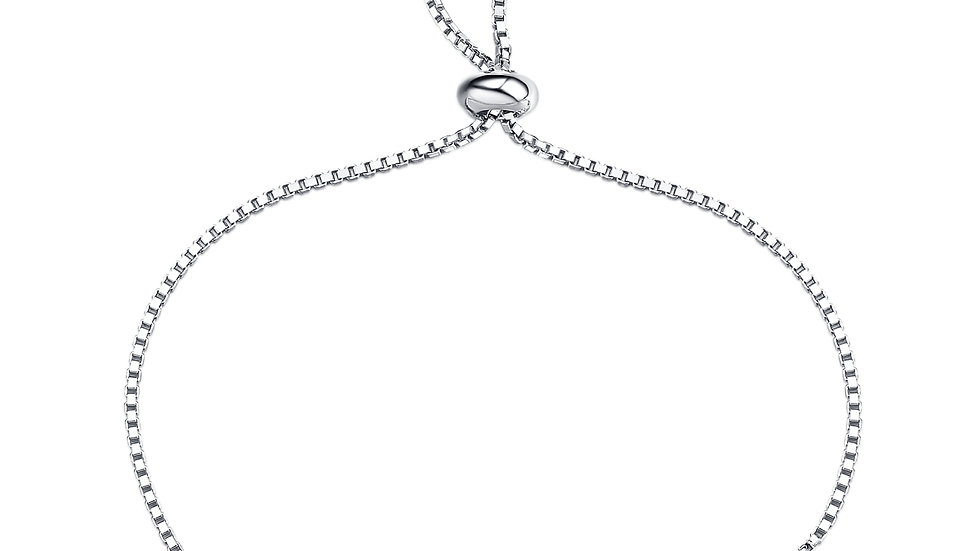 925 Silver Citrine Bracelet