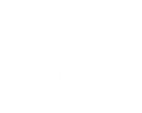 BUILDING WITH THE PHILLIPS LOGO white.pn