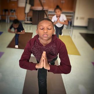 Prayer Pose