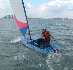 Topper youth sailing