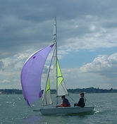 Feva sail training