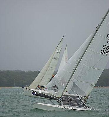 Catamaran's racing