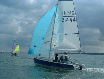 Club racing dinghys