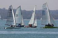 racing at Weston Sailing club