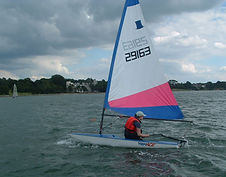Learning to sail in a Topper