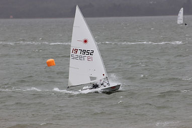 Laser Racing in windy conditions