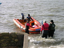 Club RIBs for safety boat duty