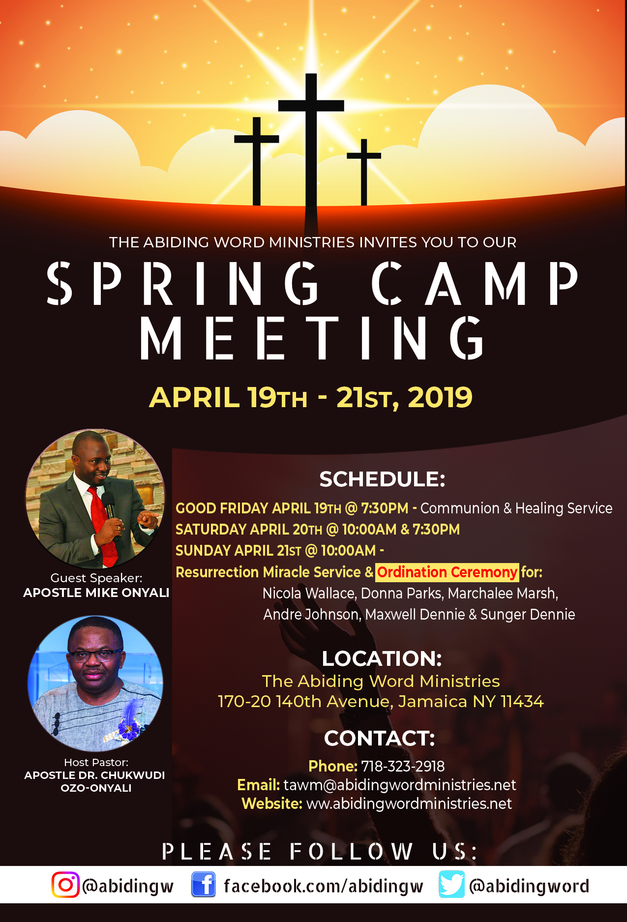 Spring Camp Meeting
