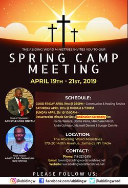 Spring Camp Meeting