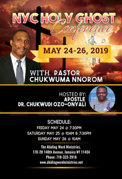 Holy Ghost Conference