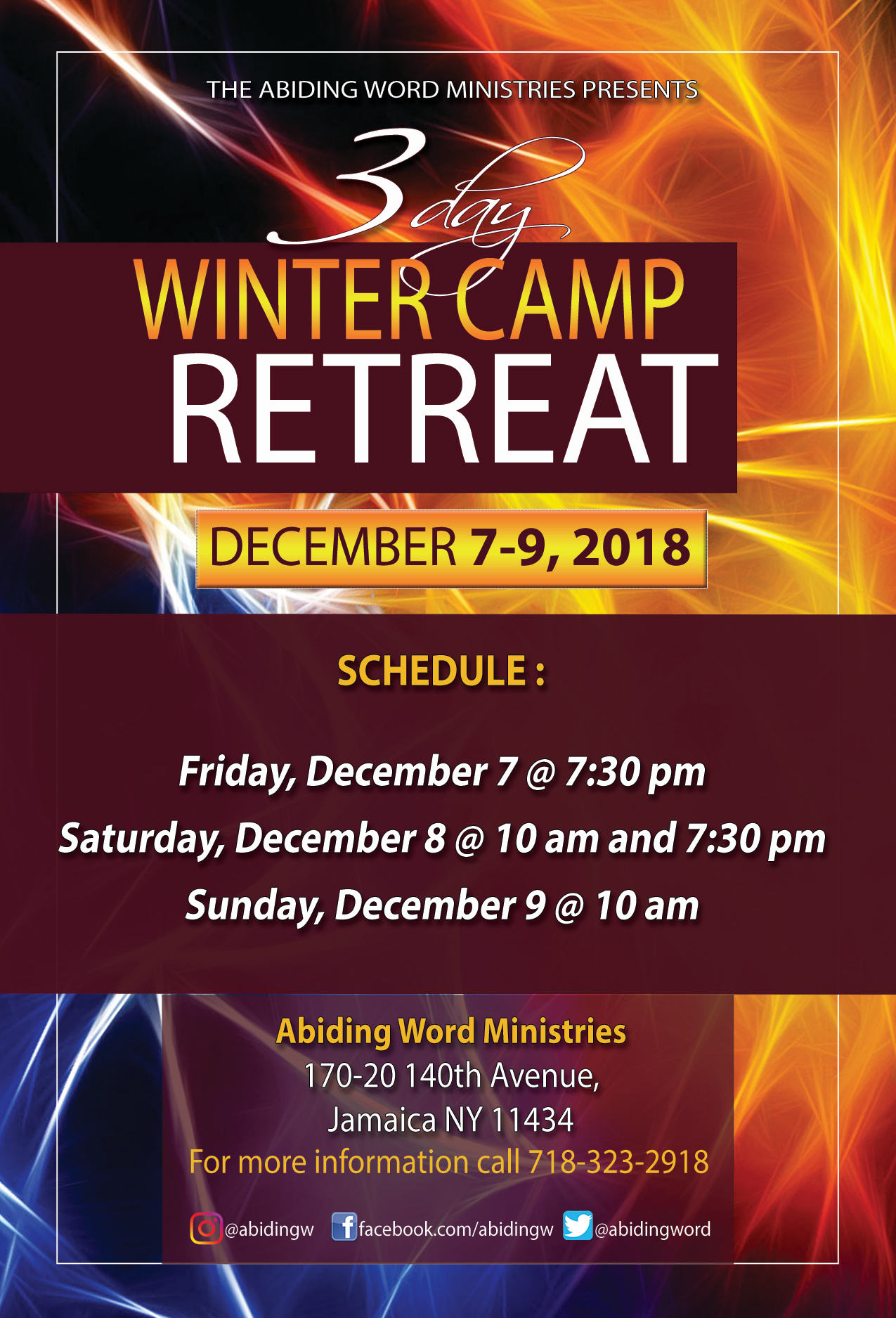 Retreat Flyer Updated CMYK