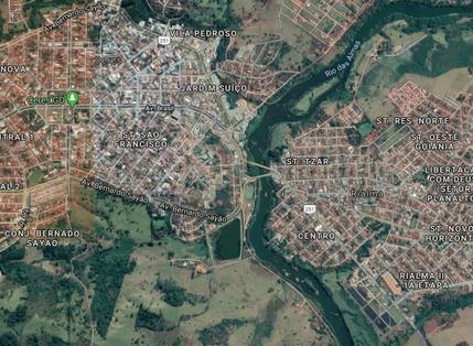 EMPREGO E RENDA E CRESCIMENTO DA POPULAÇÃO DE CERES E RIALMA
