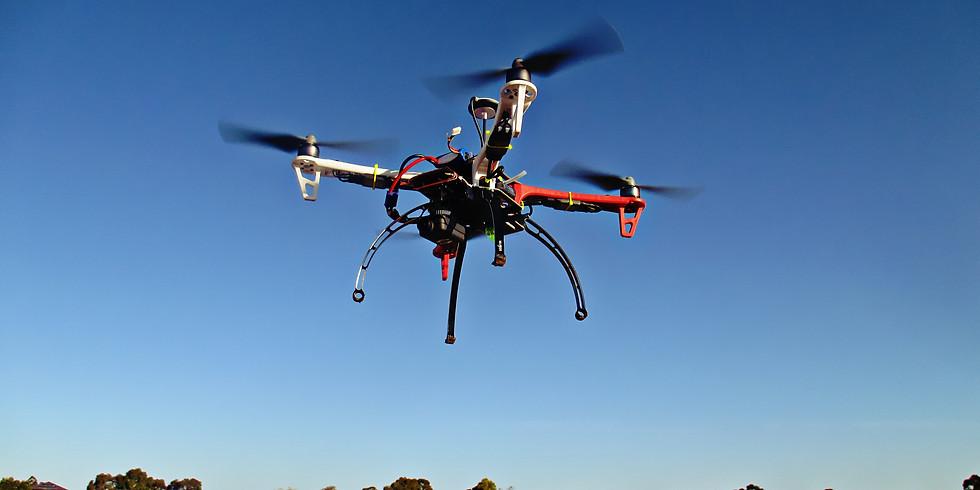 Février 2019 : Formation télé-pilote drone   Spécialité Forces de l'ordre