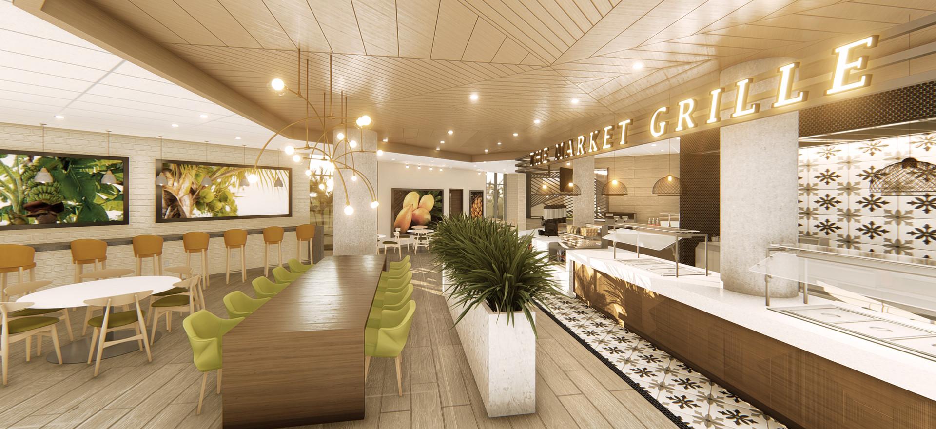 The Food Hall at Boca Raton Regional Hospital