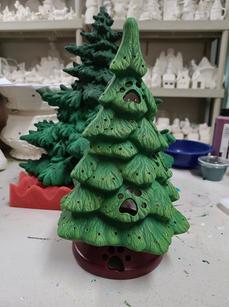 XMAS TREE & BASE 10''H (use for cutouts)