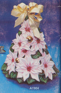 POINSETTIA TREE 12''H
