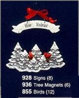 Tree Magnets (6)
