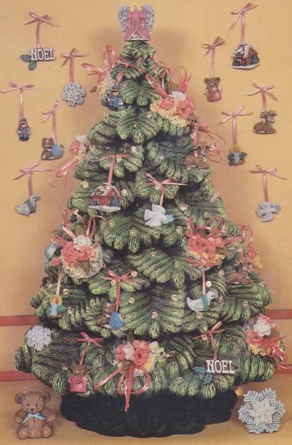 SIERRA SPRUCE XMAS TREE 15''H