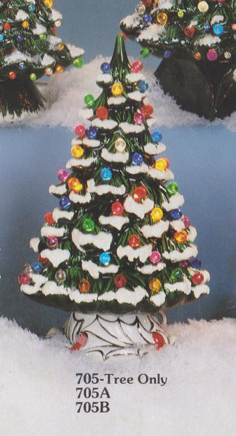 XMAS TREE & BASE 4'' Dia, HOLLAND H705
