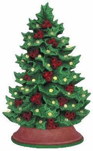 HOLLY TREE 8.75''H & BASE