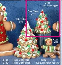 SMALL TREE LIGHT 6''H