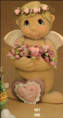 CUPID WITH ARM POCKETS, CLAY MAGIC J697,