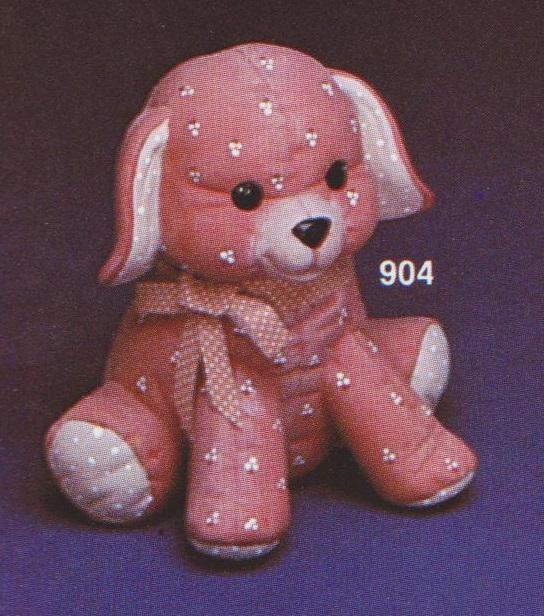 SOFT SCULPTURE DOG, KIMPLE 904, SC3996.j