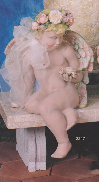 CHERUB FACING LEFT 18''H - ARMS, WING &