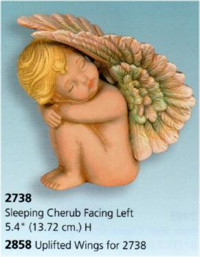 UPLIFTED WING FOR CHERUB S2738, SCIOTO S