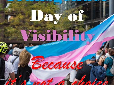 Happy transgender day of visibility
