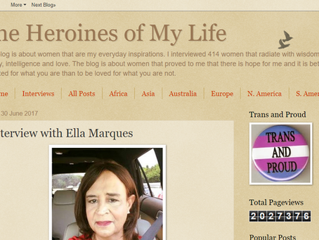 Ella Marques in heroines of my life