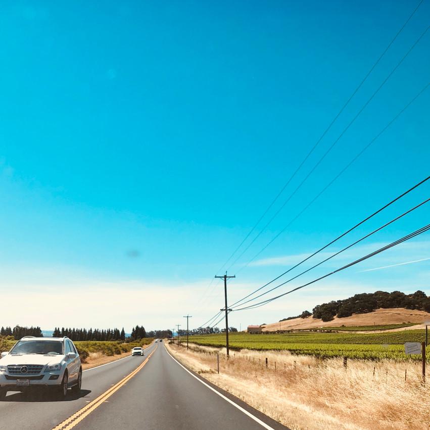 001. Piedmont to Sonoma