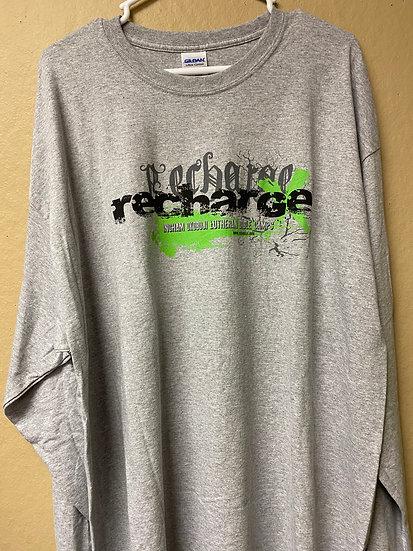 Long Sleeve Gray Recharge Shirt