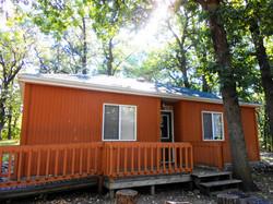 All Inn Cabin Outside