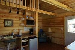 Dakota Cabin Kitchen