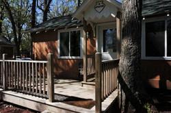 Apache Cabin Outside