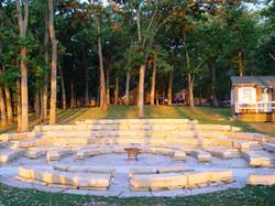 Campfire Ring at Sunrise