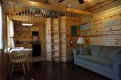 Apache Cabin Inside