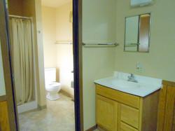 Wigwam Cabin Bathroom