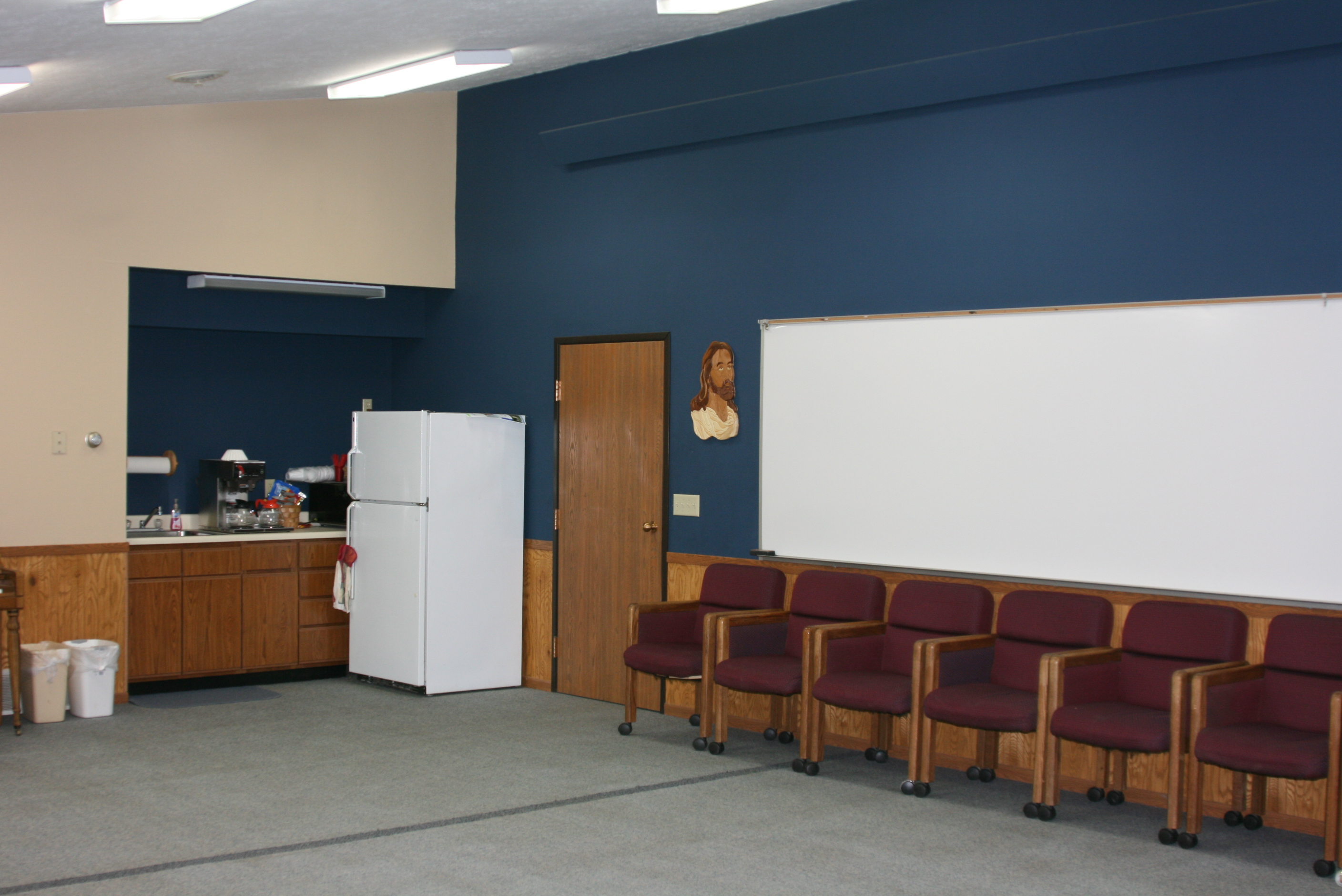 Folkers Kitchenette and White Board