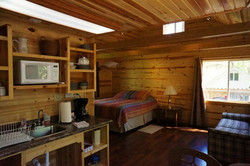 Crow Cabin Inside