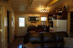 Navaho Cabin Kitchen